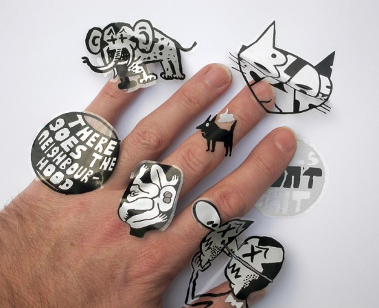 Stickers-Hand