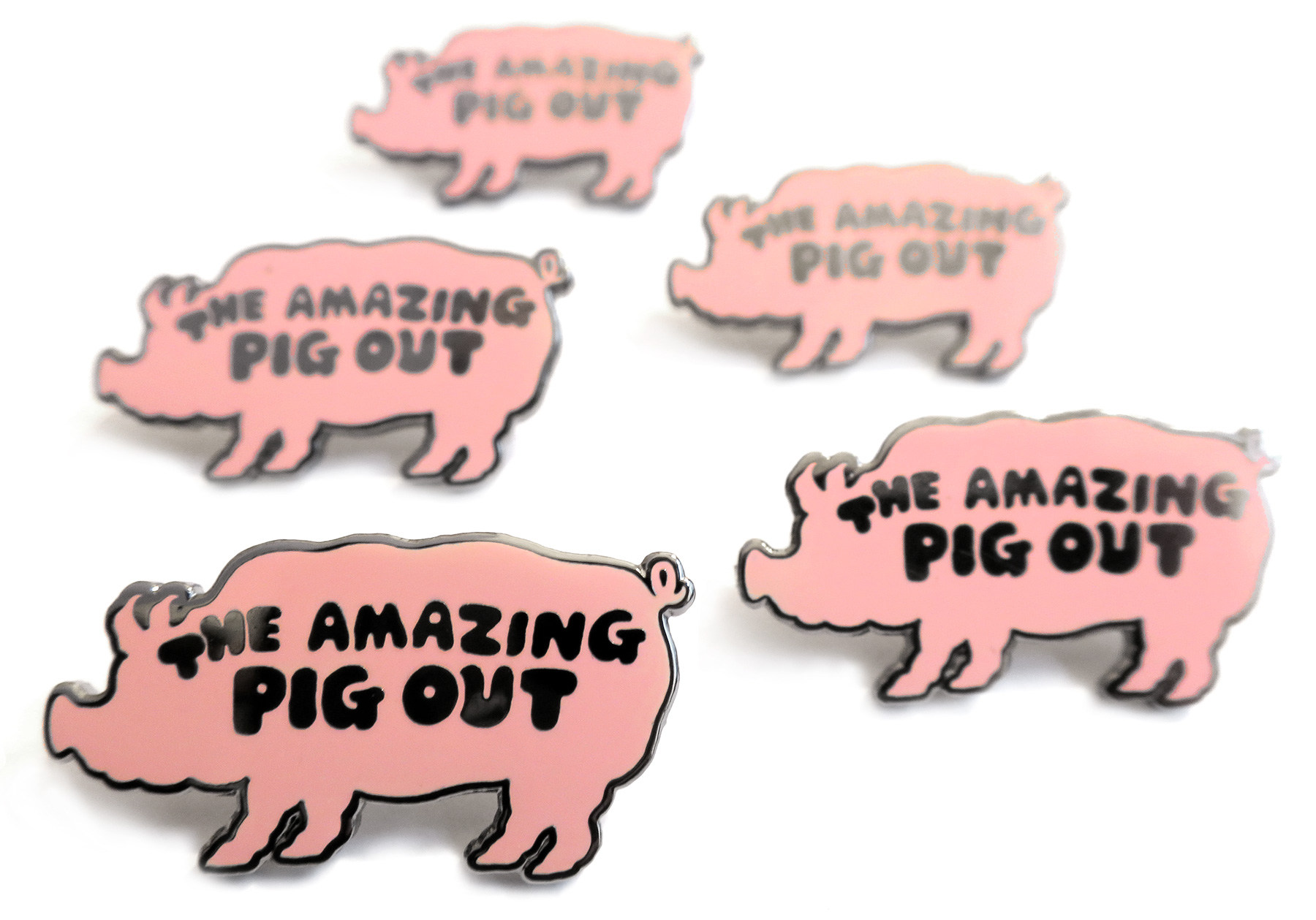 Pig-Out-Badge