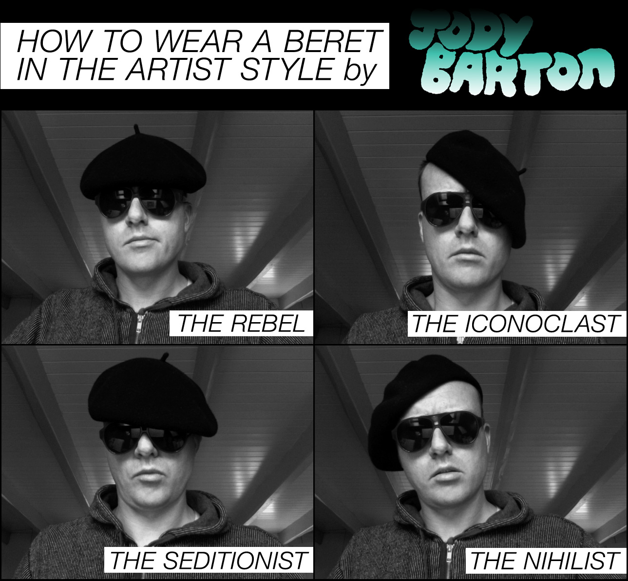 basque beret how to wear